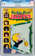 Bronze Age (1970-1979):Humor, Richie Rich Jackpots #1 File Copy (Harvey, 1972) CGC NM/MT 9.8Off-white to white pages....