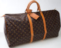 Luxury Accessories:Bags, Heritage Vintage: Louis Vuitton Classic Monogram Canvas Keepall 55....