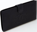 Luxury Accessories:Accessories, Heritage Vintage: Chanel Black Caviar Leather Wallet. ...