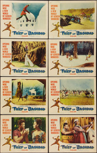 "Thief of Baghdad (MGM, 1961). Lobby Card Set of 8 (11"" X 14""). Fantasy. ... (Total: 8 Items)"