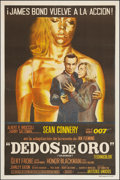 "Movie Posters:James Bond, Goldfinger (United Artists, 1964). Argentinean Poster (29"" X 44"").James Bond.. ..."