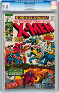 Bronze Age (1970-1979):Superhero, X-Men Annual #1 (Marvel, 1970) CGC NM/MT 9.8 Off-white to whitepages....