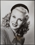 "Movie Posters:Comedy, Ginger Rogers (1940s). Portrait Photo (7.25"" X 9.5""). Comedy.. ..."