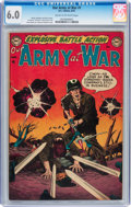 Golden Age (1938-1955):War, Our Army at War #1 (DC, 1952) CGC FN 6.0 Cream to off-white pages....