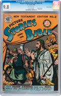 Golden Age (1938-1955):Religious, Picture Stories from the Bible New Testament Edition #3 Gaines File pedigree 10/12 (EC, 1946) CGC NM/MT 9.8 Off-white pages....