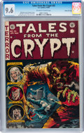 Golden Age (1938-1955):Horror, Tales From the Crypt #35 Gaines File pedigree 2/11 (EC, 1953) CGCNM+ 9.6 Off-white to white pages....