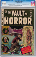 Golden Age (1938-1955):Horror, Vault of Horror #22 Gaines File pedigree 11/12 (EC, 1951) CGC NM+9.6 White pages....