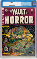 Golden Age (1938-1955):Horror, Vault of Horror #27 Gaines File pedigree 3/12 (EC, 1952) CGC NM 9.4Off-white to white pages....