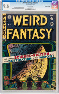 Golden Age (1938-1955):Science Fiction, Weird Fantasy #15 (#3) Gaines File pedigree 3/11 (EC, 1950) CGC NM+9.6 Off-white pages....