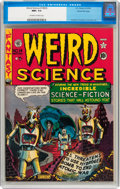 Golden Age (1938-1955):Science Fiction, Weird Science #14 (#3) Gaines File pedigree 8/11 (EC, 1950) CGC NM+9.6 Off-white to white pages....