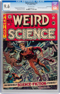Golden Age (1938-1955):Science Fiction, Weird Science #12 Gaines File pedigree 8/11 (EC, 1952) CGC NM+ 9.6Off-white pages....