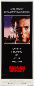 """Movie Posters:Action, Sudden Impact (Warner Brothers, 1983). Insert (14"""" X 36""""). Action.. ..."""