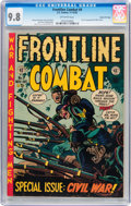 Golden Age (1938-1955):War, Frontline Combat #9 Gaines File pedigree 2/10 (EC, 1952) CGC NM/MT9.8 Off-white pages....