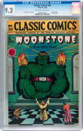 Golden Age (1938-1955):Classics Illustrated, Classic Comics #30 The Moonstone - First Edition (Gilberton, 1946)CGC NM- 9.2 Off-white to white pages....