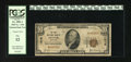National Bank Notes:Colorado, Denver, CO - $10 1929 Ty. 1 The First NB Ch. # 1016. A sound PCGSFine 12 example from one of the more acquirable ba...
