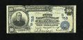 National Bank Notes:Kentucky, Covington, KY - $10 1902 Date Back Fr. 616 The First NB Ch. # (S)718. This is bright note with darkly printed signature...