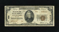 National Bank Notes:Kentucky, Lexington, KY - $20 1929 Ty. 2 The Lexington City NB Ch. # 906.W.H. Courtney was president of this bank during the Seri...