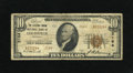 National Bank Notes:Kentucky, Louisville, KY - $10 1929 Ty. 2 The Citizens Union NB Ch. # 2164.Type 2s are over three times scarcer on this bank than...