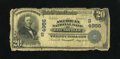 National Bank Notes:Kentucky, Louisville, KY - $20 1902 Date Back Fr. 649 The American NB Ch. #(S)4956. The edges show wear on this $20 that has fade...