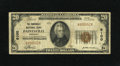 National Bank Notes:Kentucky, Paintsville, KY - $20 1929 Ty. 1 The Paintsville NB Ch. # 6100.This bank would close its doors for the last time on Dec...
