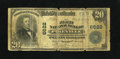 National Bank Notes:Kentucky, Pikeville, KY - $20 1902 Plain Back Fr. 650 The First NB Ch. #6622. Repairs have been made to the back of this note tha...