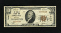 National Bank Notes:Kentucky, Pikeville, KY - $10 1929 Ty. 1 The Pikeville NB Ch. # 7030.Officers are V.E. Bevins and J.J. Moore. Fine....