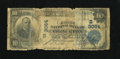 National Bank Notes:Kentucky, Princeton, KY - $10 1902 Plain Back Fr. 624 The First NB Ch. #(S)3064. This note was carried in a wallet for a long tim...