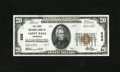 National Bank Notes:Minnesota, Saint Paul, MN - $20 1929 Ty. 2 The First NB Ch. # 203. A littlebit of embossing remains. Officers H.R. Fairchild and R...