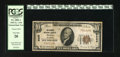 National Bank Notes:Oklahoma, Tulsa, OK - $10 1929 Ty. 1 The Exchange NB Ch. # 9658. This PCGS Very Fine 20 is from one of 13 banks to receive a c...
