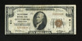 National Bank Notes:Pennsylvania, Gettysburg, PA - $10 1929 Ty. 1 The Gettysburg NB Ch. # 611. This piece is from one of only two issuers in this popular ...