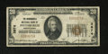 National Bank Notes:Pennsylvania, Pittsburgh, PA - $20 1929 Ty. 1 The Monongahela NB Ch. # 3874. Despite its big city locale, this piece is one of only ab...