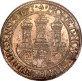 German States:Hamburg, German States: Hamburg. Free City Taler 1673-MF,...