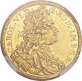 German States:Augsburg, German States: Augsburg. Free City gold Ducat 1738-B, ...