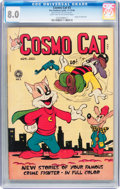 Golden Age (1938-1955):Funny Animal, Cosmo Cat #3 (Fox, 1946) CGC VF 8.0 Light tan to off-whitepages....