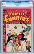 Golden Age (1938-1955):Humor, Family Funnies #8 (Harvey, 1951) CGC VF+ 8.5 Cream to off-white pages....