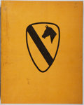 Books:Americana & American History, B. C. Wight. The 1st Cavalry Division in World War II....