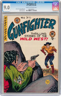 Golden Age (1938-1955):Western, Gunfighter #6 (EC, 1948) CGC VF/NM 9.0 Cream to off-white pages....