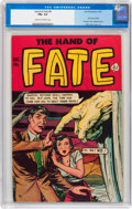Golden Age (1938-1955):Horror, The Hand of Fate #8 (Ace, 1951) CGC FN+ 6.5 Cream to off-whitepages....