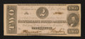 Confederate Notes:1862 Issues, T54 $2 1862 PF-11 Cr. 392.. ...
