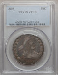 Early Half Dollars, 1805 50C VF20 PCGS. O-109a, R.3....
