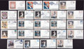 Baseball Collectibles:Others, Baseball Greats Signed First Day Covers Lot of 21....