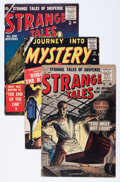 Golden Age (1938-1955):Science Fiction, Strange Tales #46, 50, and 51 Group (Atlas, 1956) Condition:Average VG-.... (Total: 3 Comic Books)