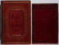 Books:Literature Pre-1900, [Leather Bindings]. Group of Two Nineteenth-Century ElaboratelyTooled Leather Bindings. Embossed in gilt and blind stamping...(Total: 2 Items)