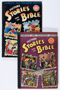 Golden Age (1938-1955):Religious, Picture Stories from the Bible Group (EC, 1945) Condition: AverageVG+.... (Total: 2 Comic Books)