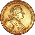 German States:Prussia, German States: Prussia. Friedrich II gold Medal of 5 Ducats1741,...