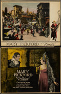 """Movie Posters:Romance, Rosita (United Artists, 1923). Deluxe Title Lobby Card and Lobby Card (10.25"""" X 13.25""""). Romance.. ... (Total: 2 Items)"""