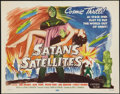 """Movie Posters:Science Fiction, Satan's Satellites (Republic, 1958). Title Lobby Card (11"""" X 14"""").Science Fiction.. ..."""