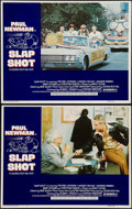 "Movie Posters:Sports, Slap Shot (Universal, 1977). Lobby Cards (2) (11"" X 14""). Sports.. ... (Total: 2 Items)"