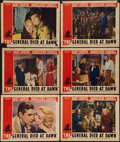 "Movie Posters:Adventure, The General Died at Dawn (Paramount, 1936). Lobby Cards (6) (11"" X14""). Adventure.. ... (Total: 6 Items)"