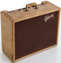 Musical Instruments:Amplifiers, PA, & Effects, 1959 Gibson GA-18 Explorer Tweed Guitar Amplifier, Serial # 110352. ...